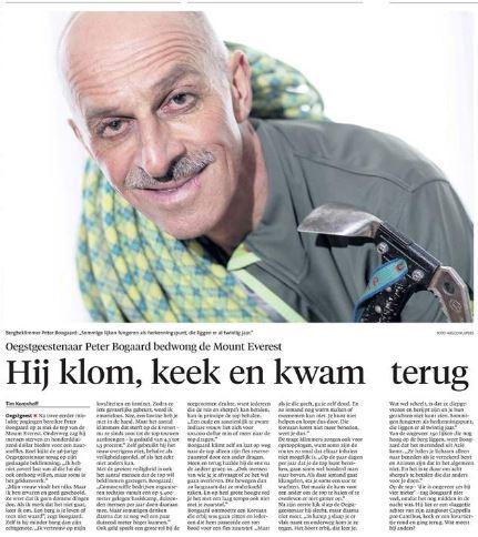 Leidsch Dagblad 3 juni 2016