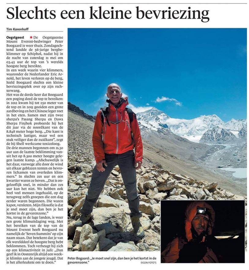 Leidsch Dagblad 31 mei 2016